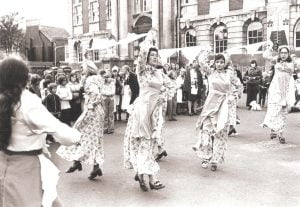 Maids of Barum 1976 - photo courtesy of Sally Wearing