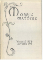 Morris Matters Vol 1 Issue 4