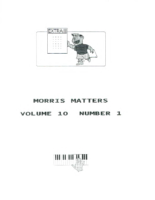 Morris Matters Vol 10 Issue 1