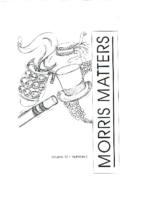Morris Matters Vol 12 Issue 2