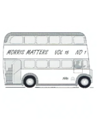Morris Matters Vol 15 Issue 1