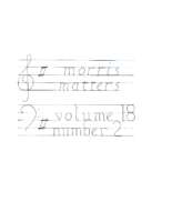 Morris Matters Vol 18 Issue 2