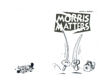 Morris Matters Vol 19 Issue 2
