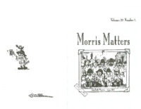 Morris Matters Vol 20 Issue 1