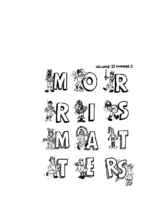 Morris Matters Vol 25 Issue 2