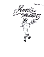 Morris Matters Vol 28 Issue 1