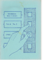 Morris Matters Vol 4 Issue 2