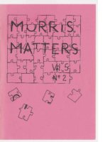 Morris Matters Vol 5 Issue 2
