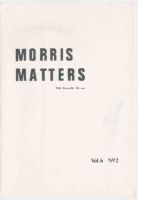 Morris Matters Vol 6 Issue 2