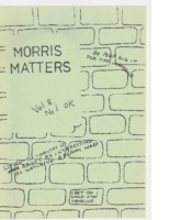 Morris Matters Vol 8 Issue 1