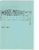 Morris Matters Vol 9 Issue 2