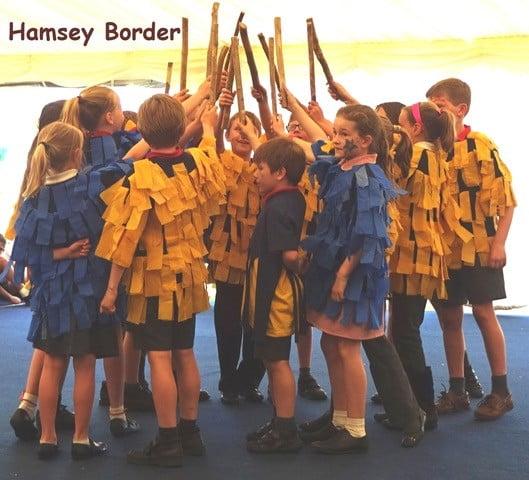 photo of ESSDF Hamsey Border