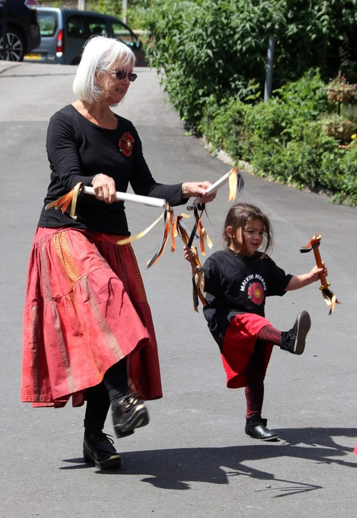 photo of Malkin Morris - youngest and oldest members