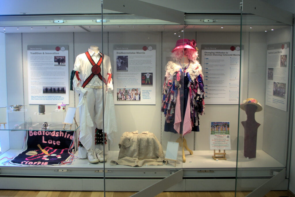 Redbornstoke & Bedfordshire Lace Exhibition Higgins Museum 2020