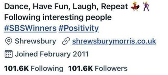 Shrewsbury Morris on twitter