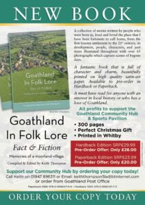 Book flyer Goathland in Folk Lore