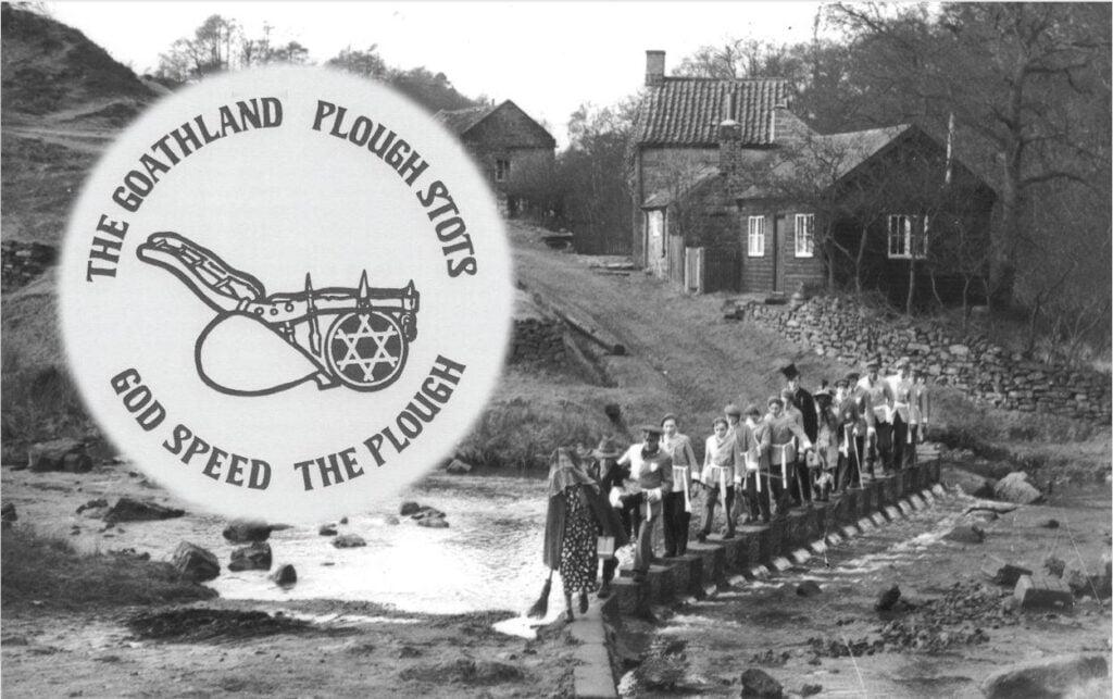 Goathland Plough Stots old photo