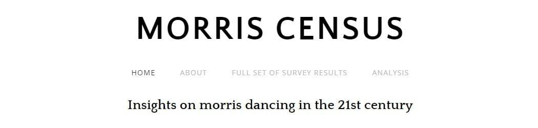 Morris Census banner