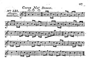 Cocoa Nut Dance tune